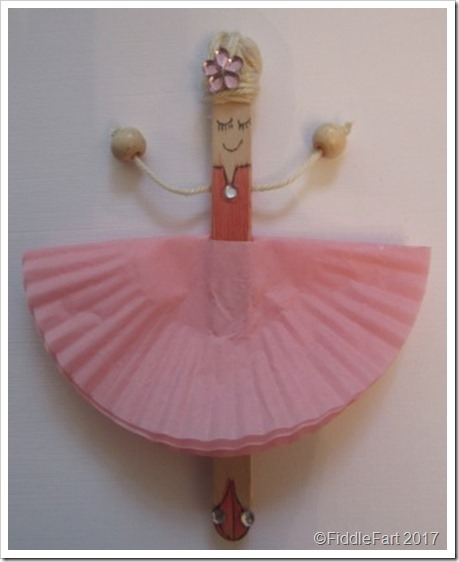 Popsickle Stick Ballerina 4