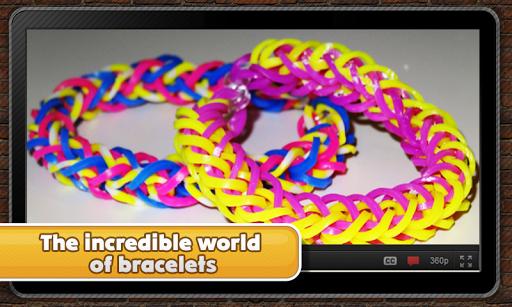 Bracelets on slingshot
