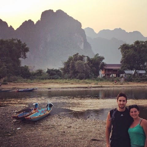 The Tubing Experience in Vang Vieng, Laos is not extinct!