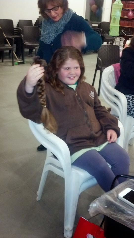 Donating hair for cancer patients 2014  - 1622855_539643452818619_1746563047_n.jpg