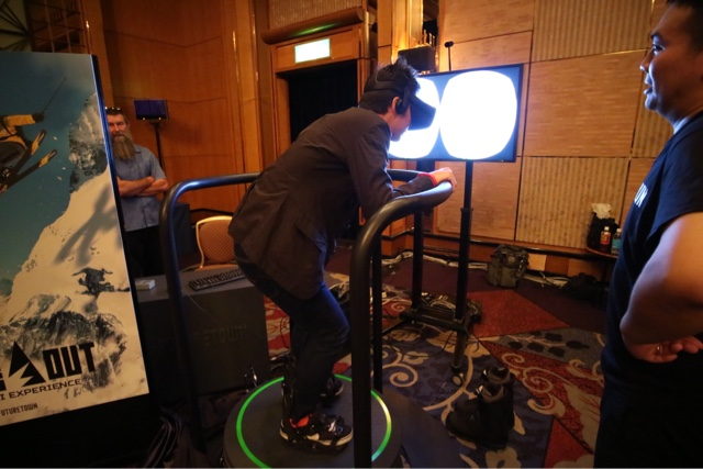 【2016 TGS】FutureTown  5D Total Motion 體感 VR 站立模組