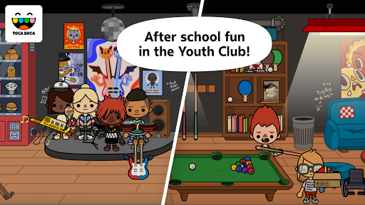 Screenshot for Toca Life: School in Hong Kong Play Store