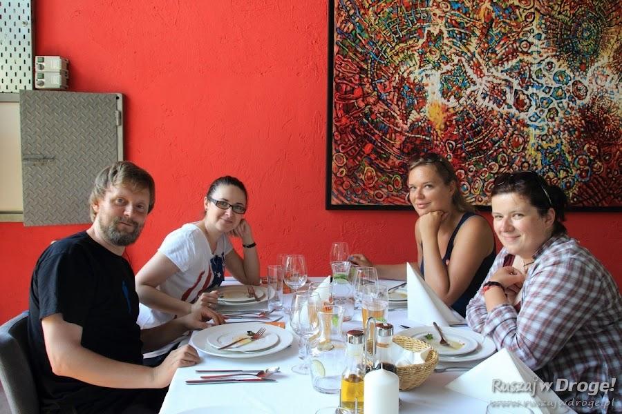 Obiad w Browarze Obywatelskim w Tychach