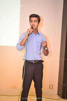 Jibran Yousuf, Young speaker