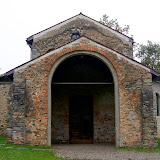 109. Church of Santa Maria foris portas. Facade. Castelseprio. Province of Varese. 2013