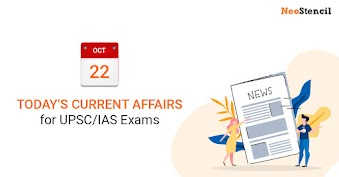 Daily Current Affairs - 22-October-2019 (The Hindu, Indian Express Newspapers)