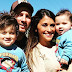 Leo Messi takes his family to the happiest place on earth