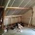 na de vakantie het renoveren van de verdieping en zolder weer opgestart.