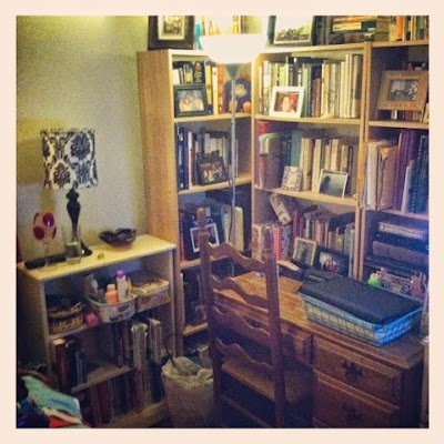 Book Nook and Study Desk Area of Bedroom