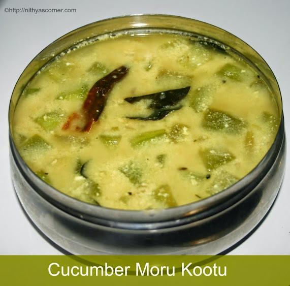 Cucumber Moru Curry