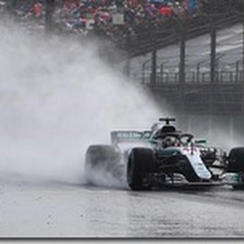 GP d'Ungheria: Hamilton in pole sotto la pioggia