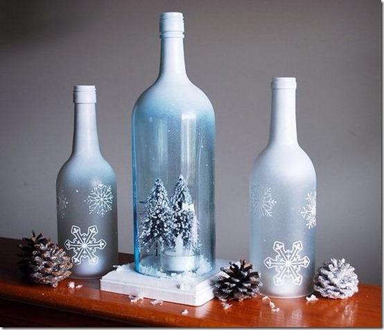 decorar botellas navidad todonavidad info (10)
