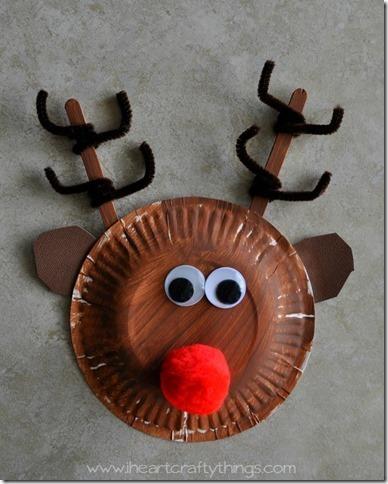 manualidades con platos navidad (1)