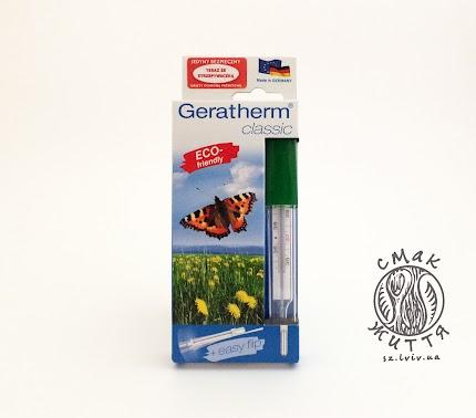 Еко-термометр Geratherm classic (не ртутний!) Germany
