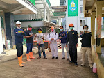 Antisipasi Penyebaran Covid-19, Karang Taruna Desa Sukaluyu Giat Laksanakan Penyemprotan Desinfektan