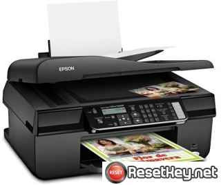 Reset Epson TX320F printer Waste Ink Pads Counter