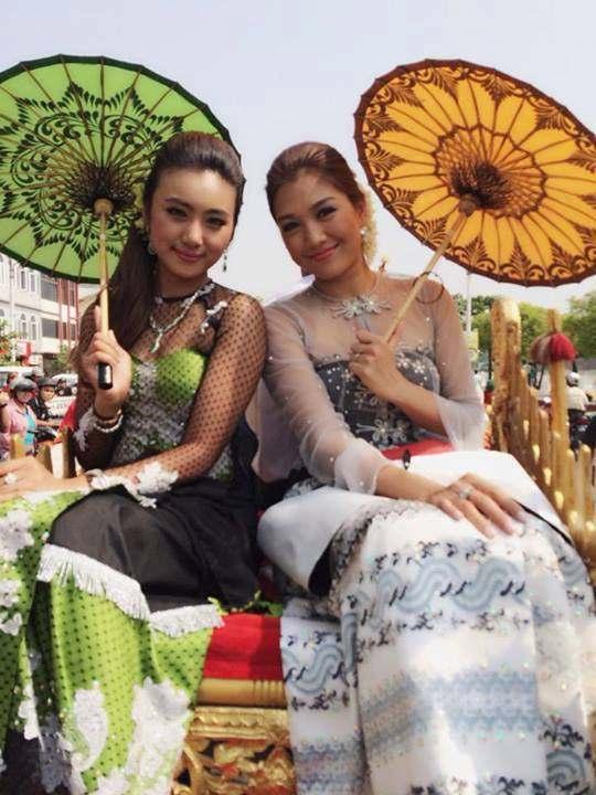 Myanmar Fashion Dress For Women 2017 Styles 7
