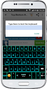 IconMe Keyboard - náhled