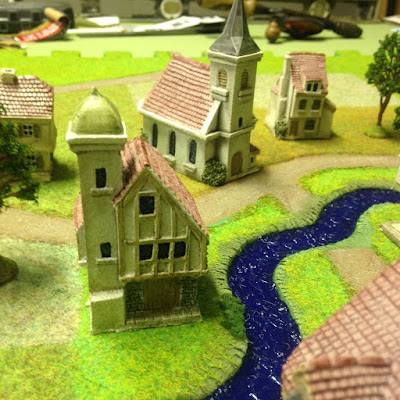 Total Battle Miniature Buildings - Vom Kriege - Napoleonic wargame rules