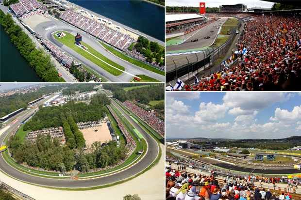 Most Beautiful Formula 1 Circuits in The World