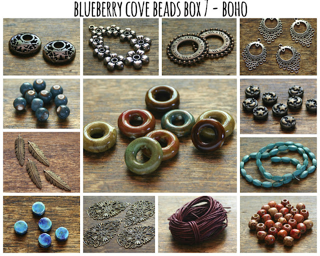 Boho Bead Box from Blueberry Cove Beads