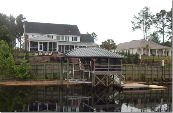 screened dock