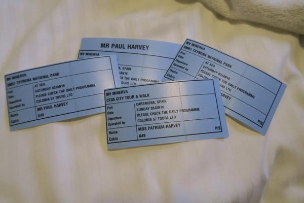 Tour Tickets