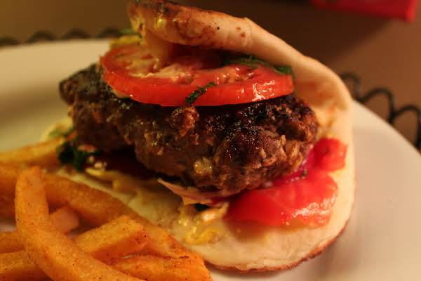 Spicy, Sweet And Smokey Flavors From India In A Burger!