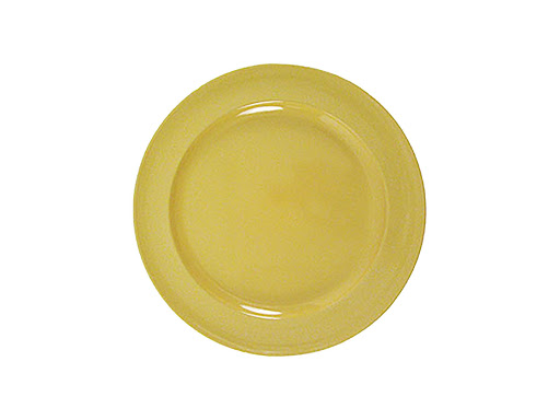 Billy Cotton Yellow Salad Plate