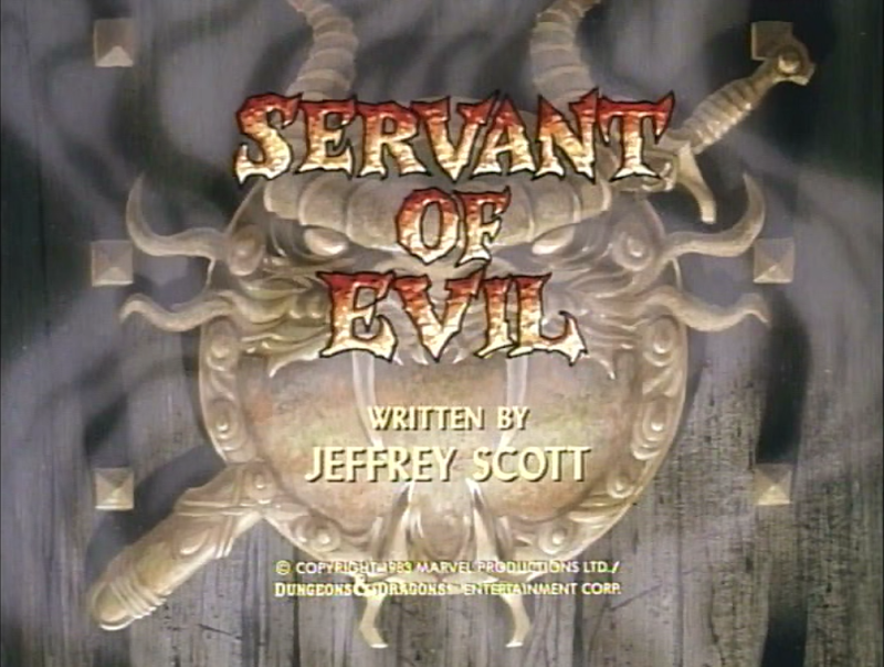 Servant of Evil title card