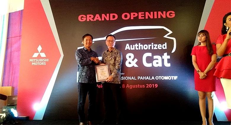 Body & Cat Mitsubishi Pekanbaru