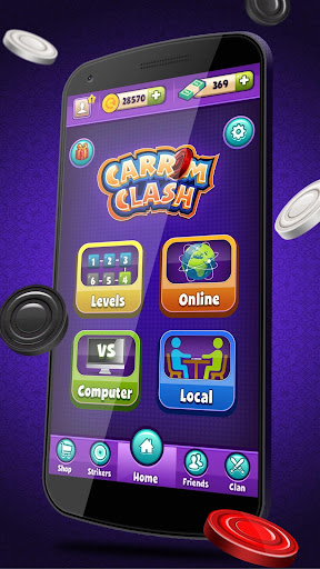 Carrom Clash  Realtime Multiplayer Free Board Game Apk 1