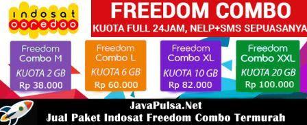 Jual Paket Freedom Combo Murah Indosat Ooredoo Java Pulsa Elektrik All Operator Termurah Terpercaya
