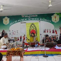 2015-01-31 SPIC MACAY Program - Santoor Maestro Pt. Bhajan Sopori at DPS Rajkot