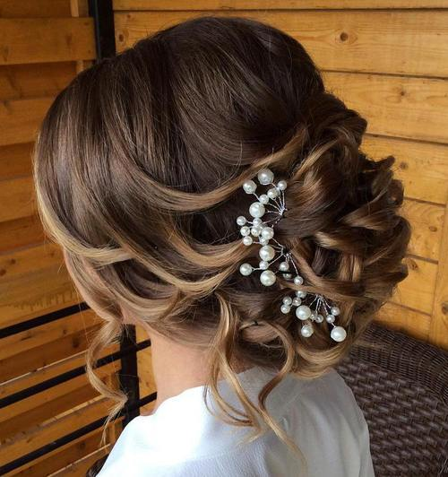Top Smart Wedding Hair Updos In Current Year For Brides 2017-2018 2