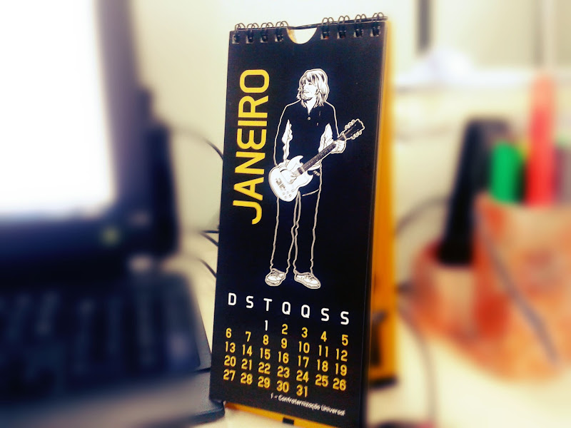 I want it now: calendário Humberto Gessinger 2013 by Stereophonica