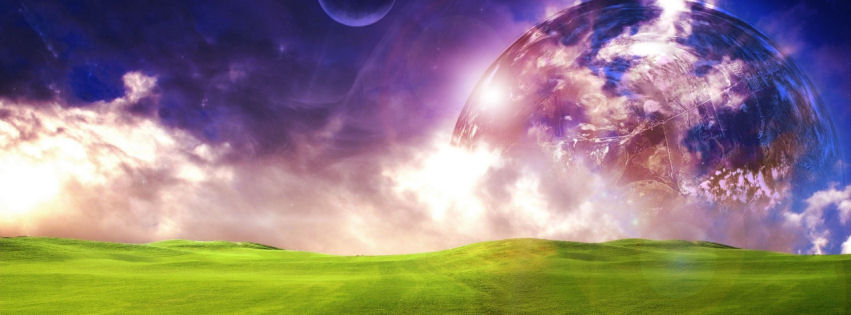 A dreamy world facebook cover