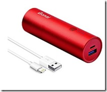 Bonai 5200 mAh portable charger