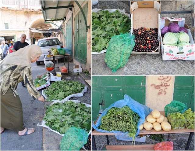 the outdoor market of Nazareth