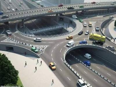 Changamwe modern roundabout