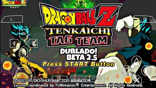 SAIU! DRAGON BALL Z TENKAICHI TAG TEAM DUBLADO PT BR MOD +MENU BETA 2 PARA ANDROID / PPSSPP