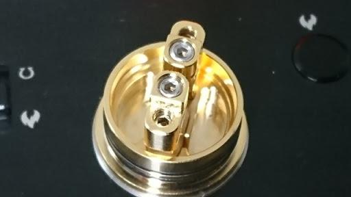 DSC 2107 thumb%25255B3%25255D - 【RDA】「Geekvape Peerless RDA」レビュー。24mm爆煙大型コイルビルド可能な高級感あふれるドリッパー!!ボトムフィード対応【ギークベープ/ビルド/電子タバコ】