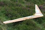 La pureté des lignes de cette aile Horten de 4 m d'envergure