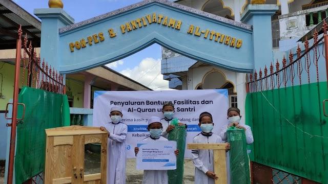 Kitabisa Kembali Salurkan Bantuan Fasilitas dan Al-Qur'an untuk Santri Ponpes