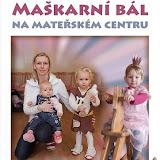 Maškarní bál na mateřském centru