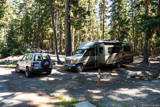 site 38 at the North Waldo Campground
