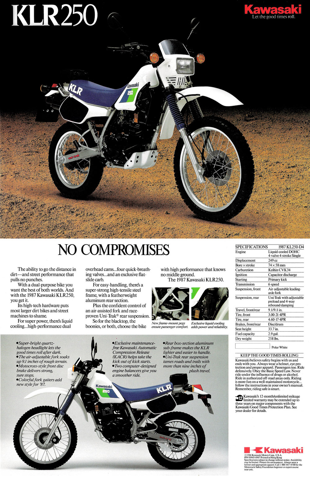 klr 250 wiring diagram free download schematic wiring library1987 kawasaki klr250 sales brochure kawasaki klr250 1987 kawasaki klr250 sales brochure klr 250 wiring diagram