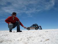 Crazy Salt Flat pics, SW Circuit