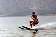 1973 г. Веселовская бухта. Водные лыжи