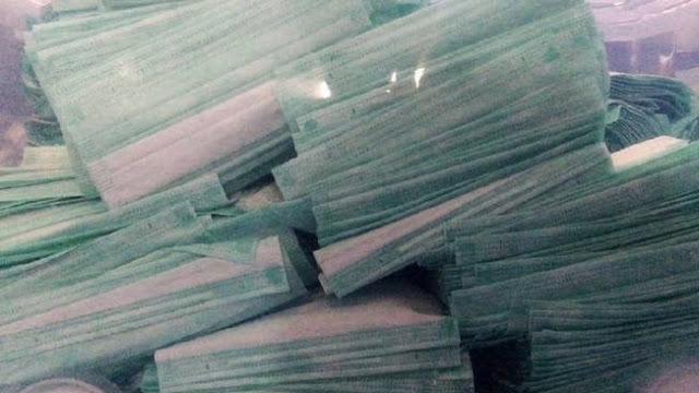 Timbun Masker Bisa Kena Denda Maksimal Rp 50 Miliar